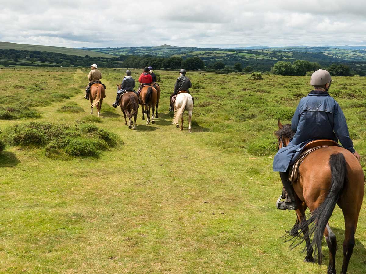 Riding across the moors again