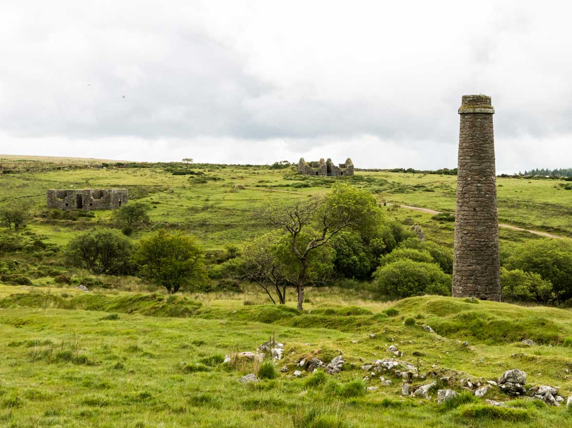 Stone pillar Dartmoor