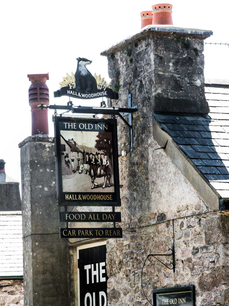 Another overnight accommodation - Old Inn Dartmoor