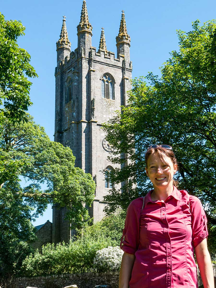 Another church on Dartmoor Crossing riding holiday