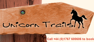 Unicorn Trails, Call +44 (0)1767 600606 to book